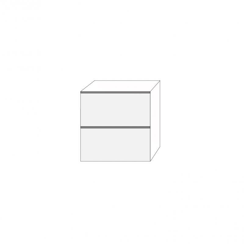 Fanér 80x80 - 2 lådfronter: 40/40