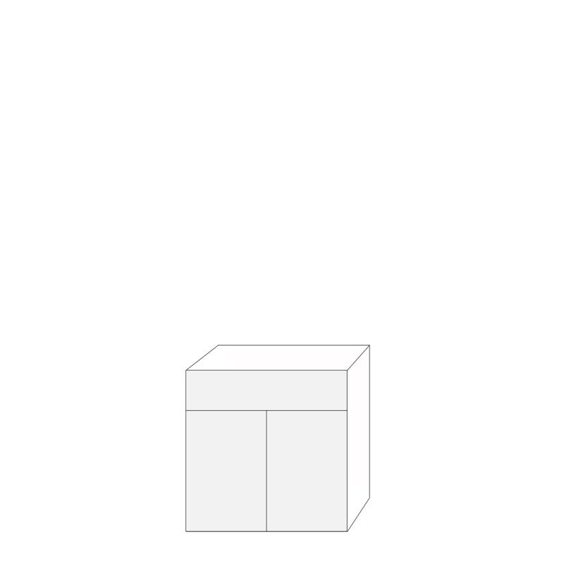 Ramses 80x80 - 1 låda 2 luckor