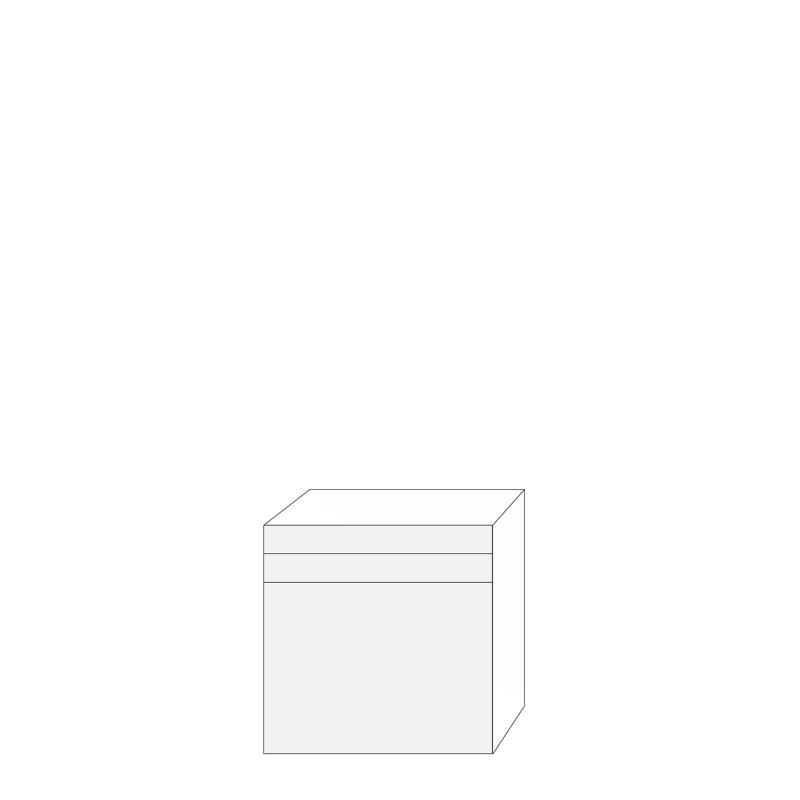 Ramses 80x80 - 3 lådfronter: 10/10/60