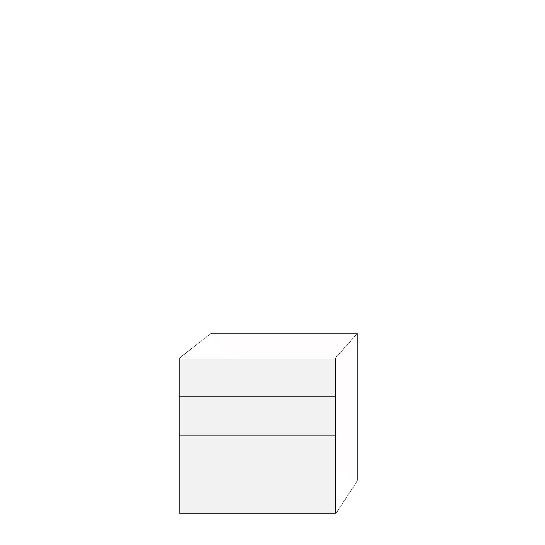 Coco 80x80 - 3 lådfronter: 20/20/40