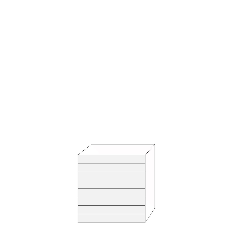Coco 80x80 - 8 lådfronter: 10/10/10/10/10/10/10/10