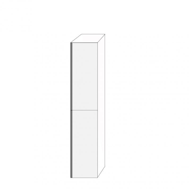 Fanér 40x200 - 2 luckor högerhängda 100/100