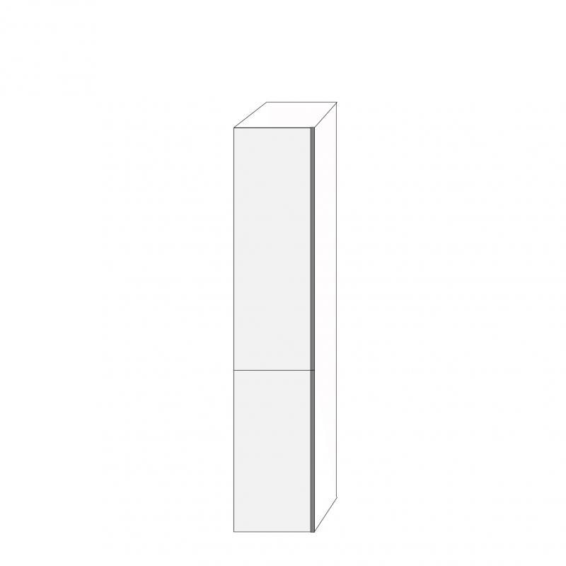 Fanér 40x200 - 2 luckor vänsterhängda 120/80
