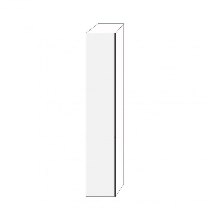 Fanér 40x220 - 2 luckor vänsterhängda 140/80