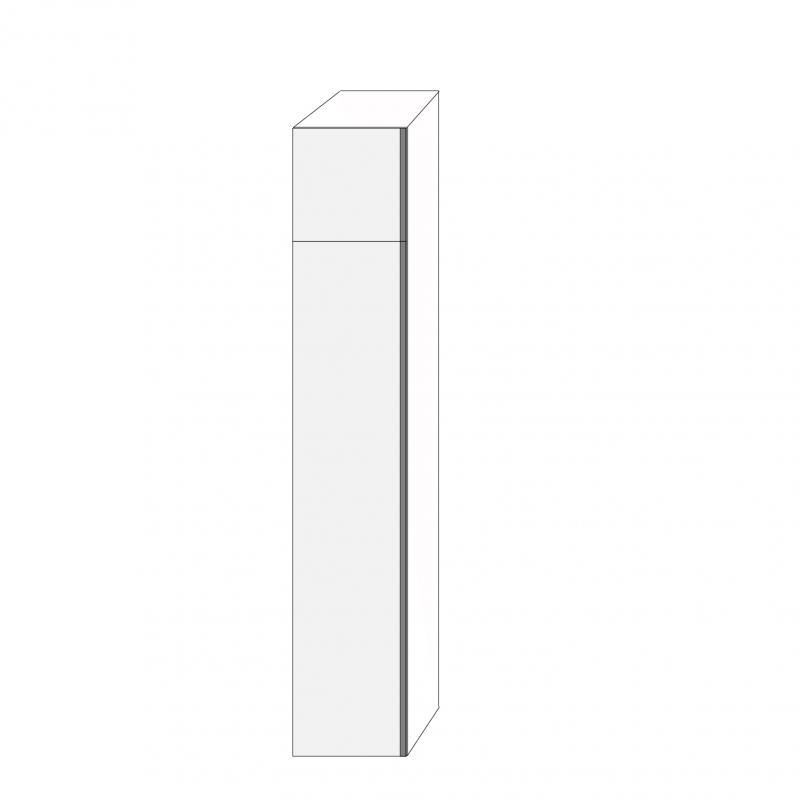 Fanér 40x220 - 2 luckor vänsterhängda 40/180