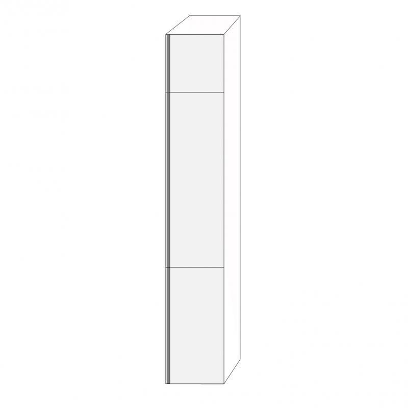 Fanér 40x240 - 3 luckor högerhängda 40/120/80