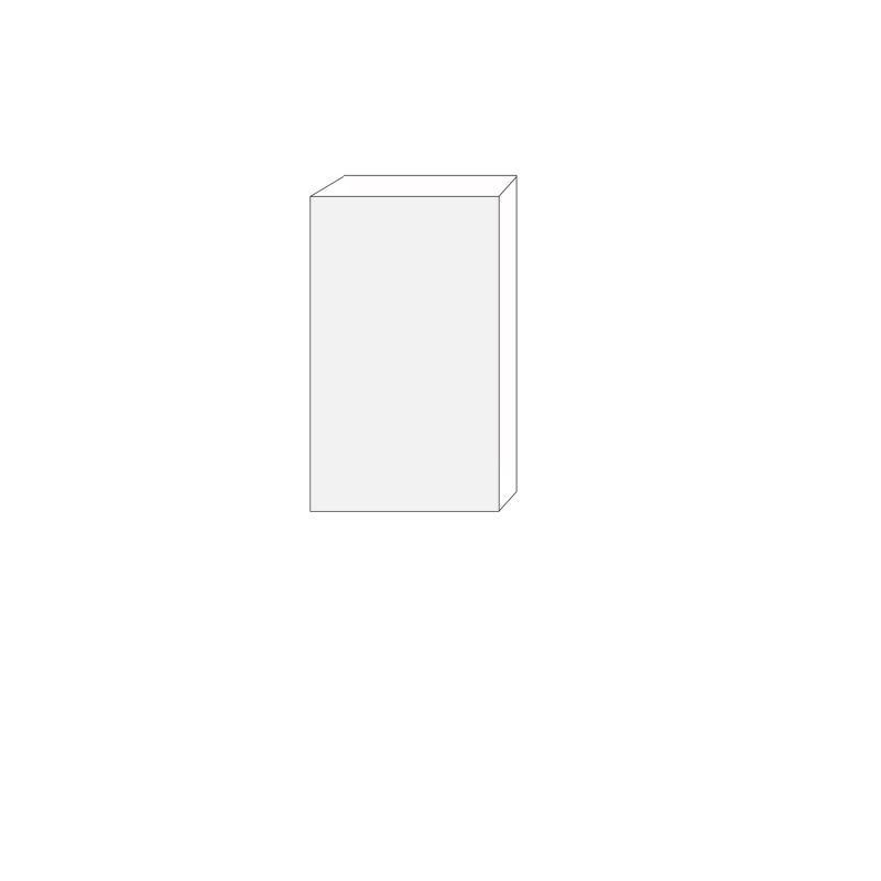 60x100 - 1 lucka högerhängd