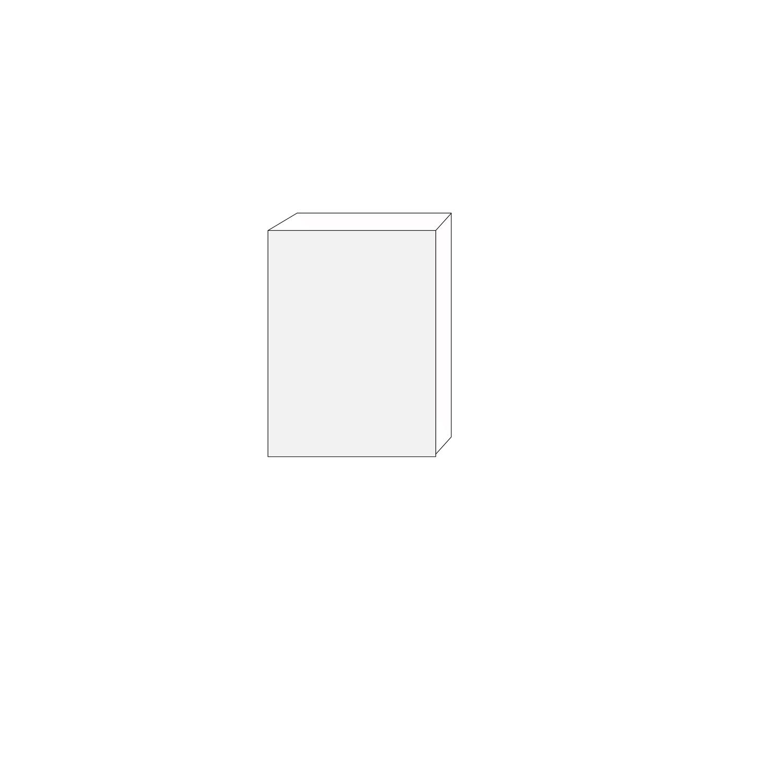 60x80 - 1 lucka högerhängd