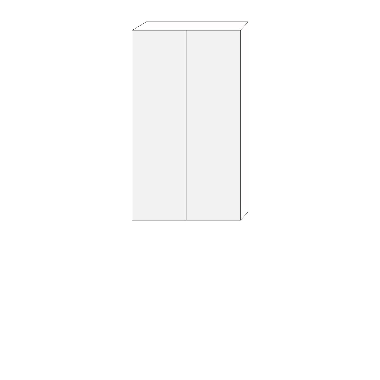 80x140 - 1 luckpar till väggstomme