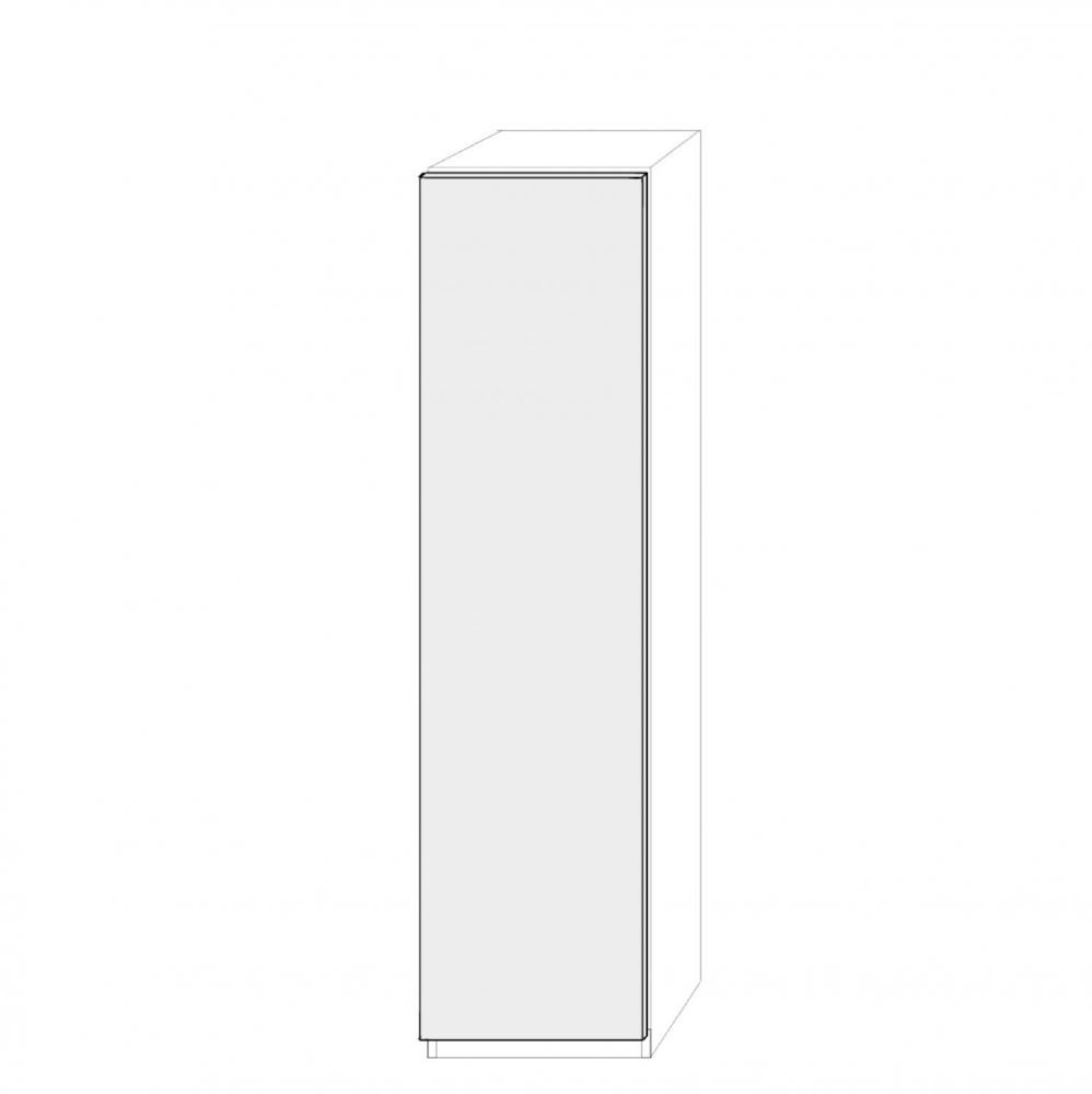 Högerhängd dörr 50cm Pax - fanér