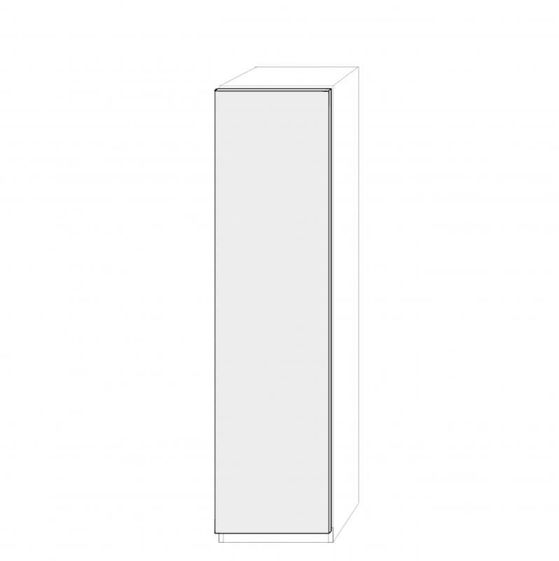 Högerhängd dörr 50cm Pax - slät