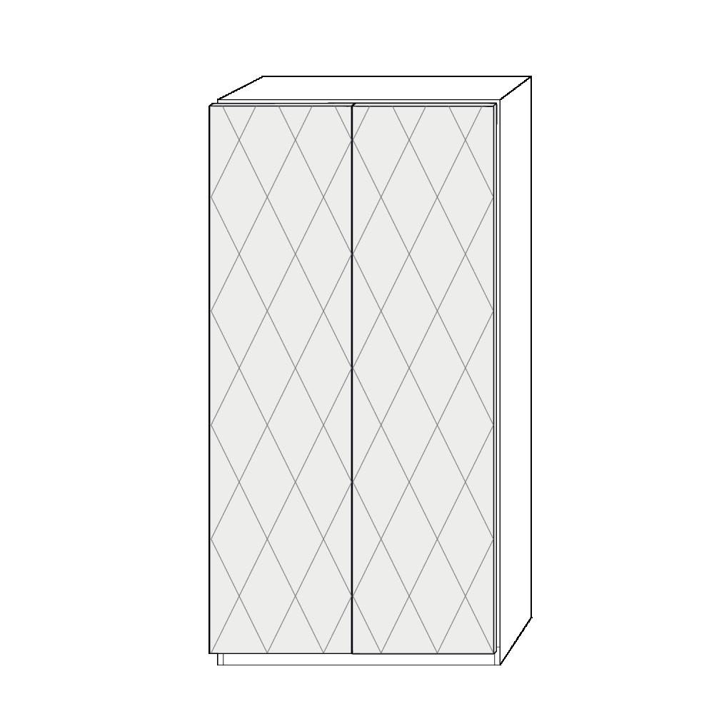 Dörrpar 100cm Pax - med mönster
