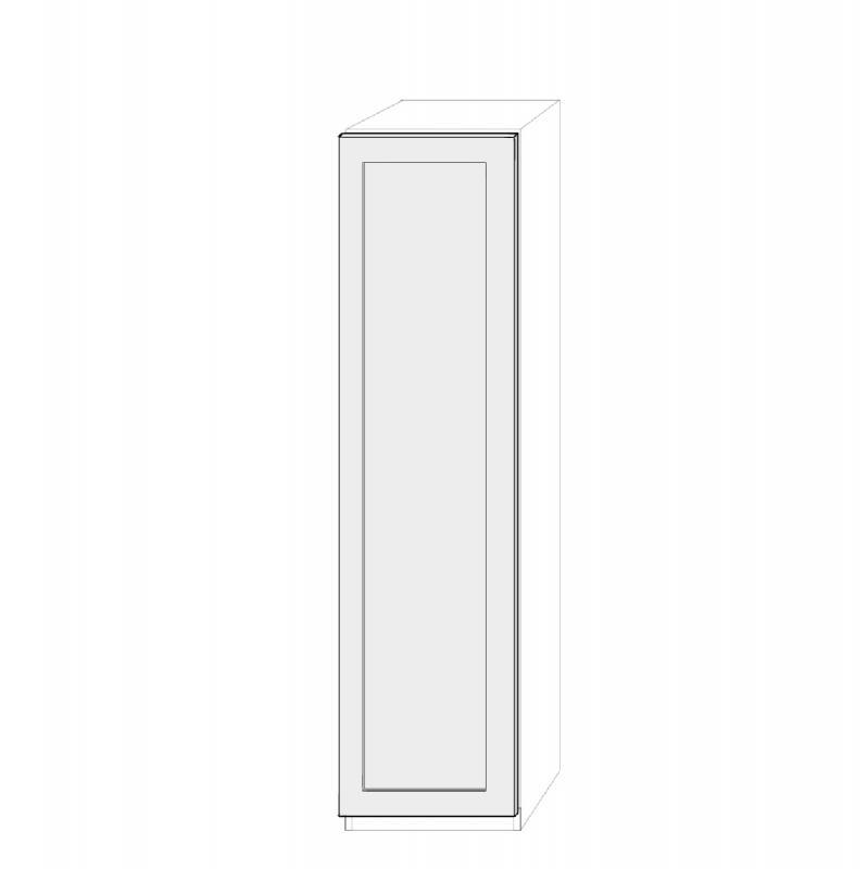 Högerhängd dörr 50cm Pax - med Ram