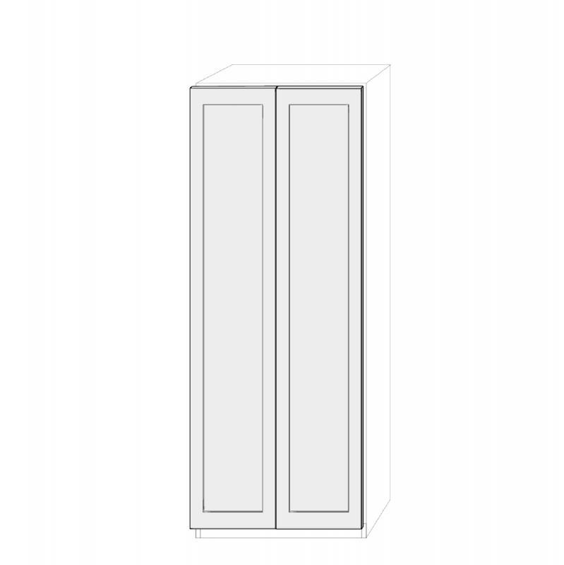 Dörrpar 75cm Pax - med Ramar