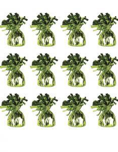 Folie Ballongvikt i grön. Hög Kvalitet Artikel. 170gr