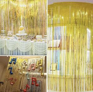Ballong Dekoration Set i Guld.