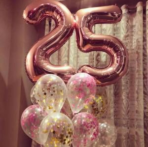 25th Birthday Ballong Bukett.