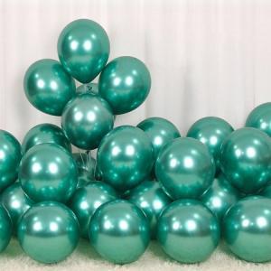 Chromeballonger Gröna.10 pack.