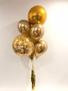 Ballong Bukett Guld.