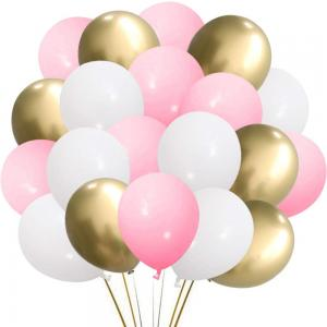 Ballong Bukett i Pastell Rosa. 50 delar.
