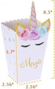 Popcornboxar - Unicorn. 8 Pack