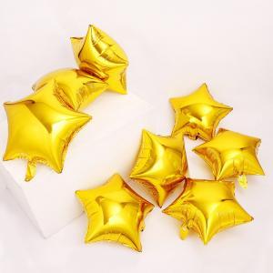 Guld Stjärna Folie Ballong
