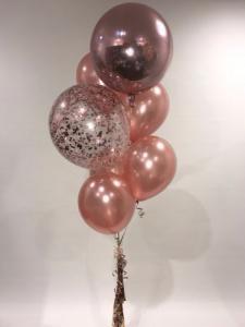 Ballong Bukett Rosaguld.