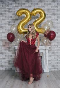 22 Birthday Ballong Bukett.