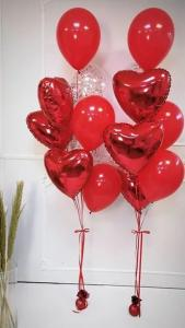 Ballong Bukett min Älskade Hjärta.
