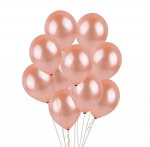 18th HAPPY BIRTHDAY Ballong set i Rosaguld/Silver ink Draperi.