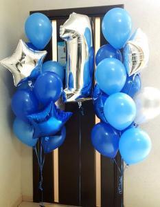 1st Birthday Ballong Bukett.
