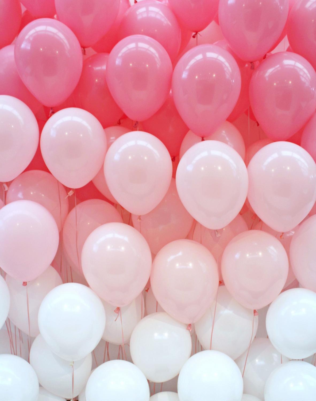 Pastell Ballong Bukett. 30 Pack.