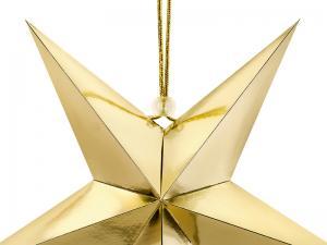 Stjärna, 30 cm, Guld