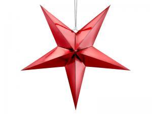 Stjärna, 70 cm, röd