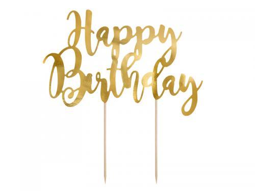 Cake Topper - Happy Birthday. 22.5cm