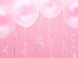 Ballongsnöre i Iridescent. 5mm/225m