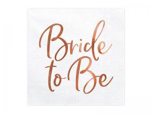 Servett - Bride To Be. 33x33cm. 20st.