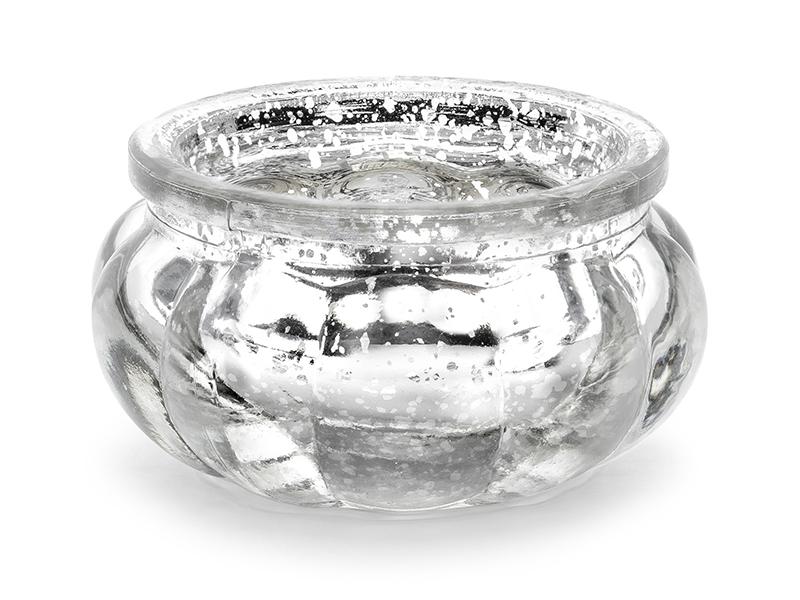 Ljusstake Silver. 4 Styck
