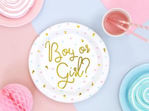 Boy or Girl ?  PAPPERSTALLRIKAR. 6 pack. 23cm