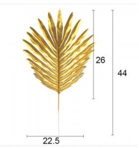 Aloha Guld Blad - Dekorationsmaterial. 5 Styck. 26cm x 22,5cm