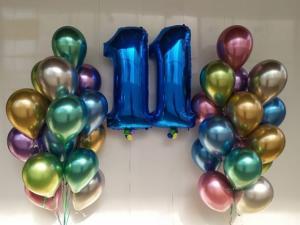 11th birthday Ballong Bukett.