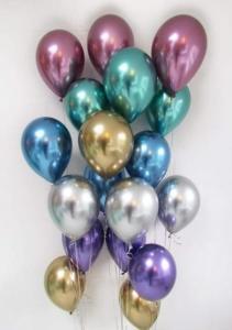 Ballong Bukett Chrome. 18 Pack.