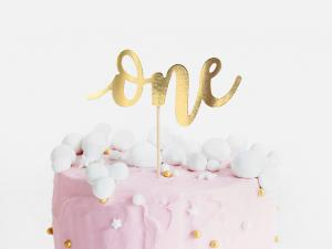 Cake Topper - ONE. 19cm