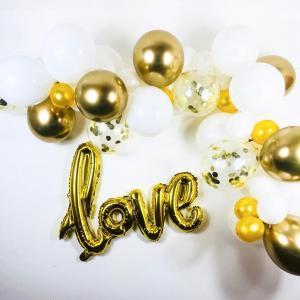 DIY Ballongbåge LOVE.  38 delar.