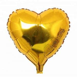 Hjärta Guld Folieballong