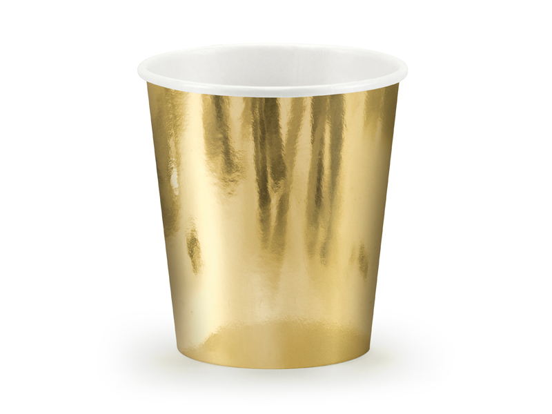 Guld Folie MUGGAR. 6 Pack. 180ml