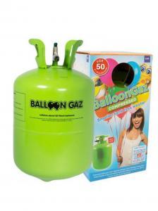 Helium På Tub för 30 ballonger