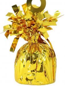 Folie Ballongvikt i Guld. Hög Kvalitet Artikel. 170gr