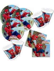 Spindelmannen Web Warriors Dukning Set. 36 pack