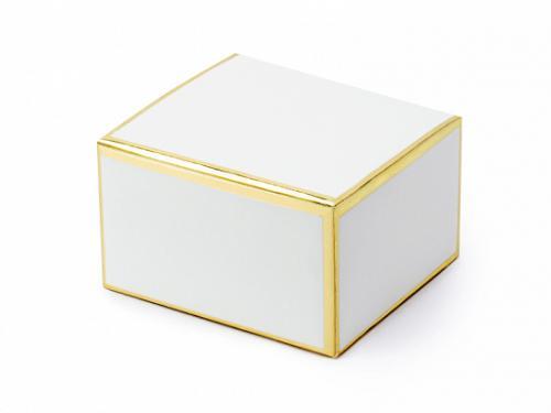 Vit Box. 6x3.5x5.5cm. 10 styck.
